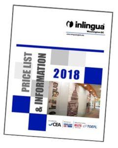 2018 Price List - inlingua Washington DC language school offering English classes and foreign language training
