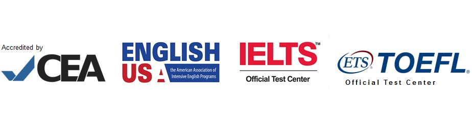 Accredited by CEA | Member of EnglishUSA | IELTS Test Center | TOEFL iBT Test Center