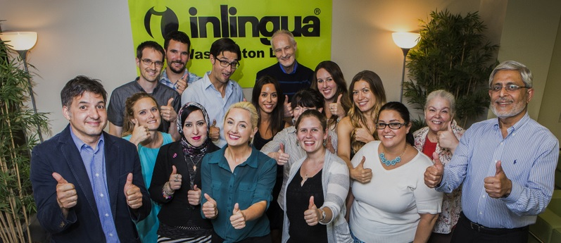 Our amazing language trainers at our language school in Washington DC