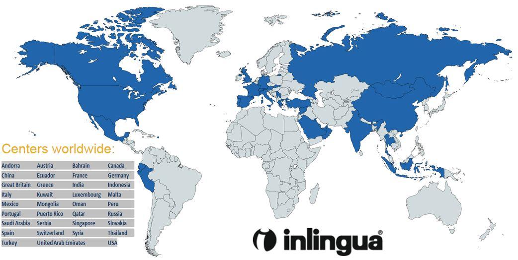 Inlingua Language Center Locations