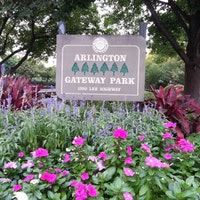 Gateway Park across the street from inlingua English School