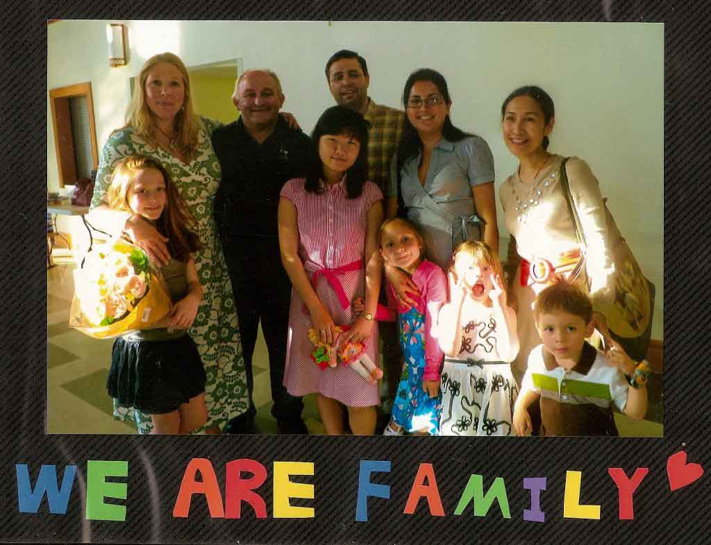 Learn English with a Homestay family in Arlington, VA