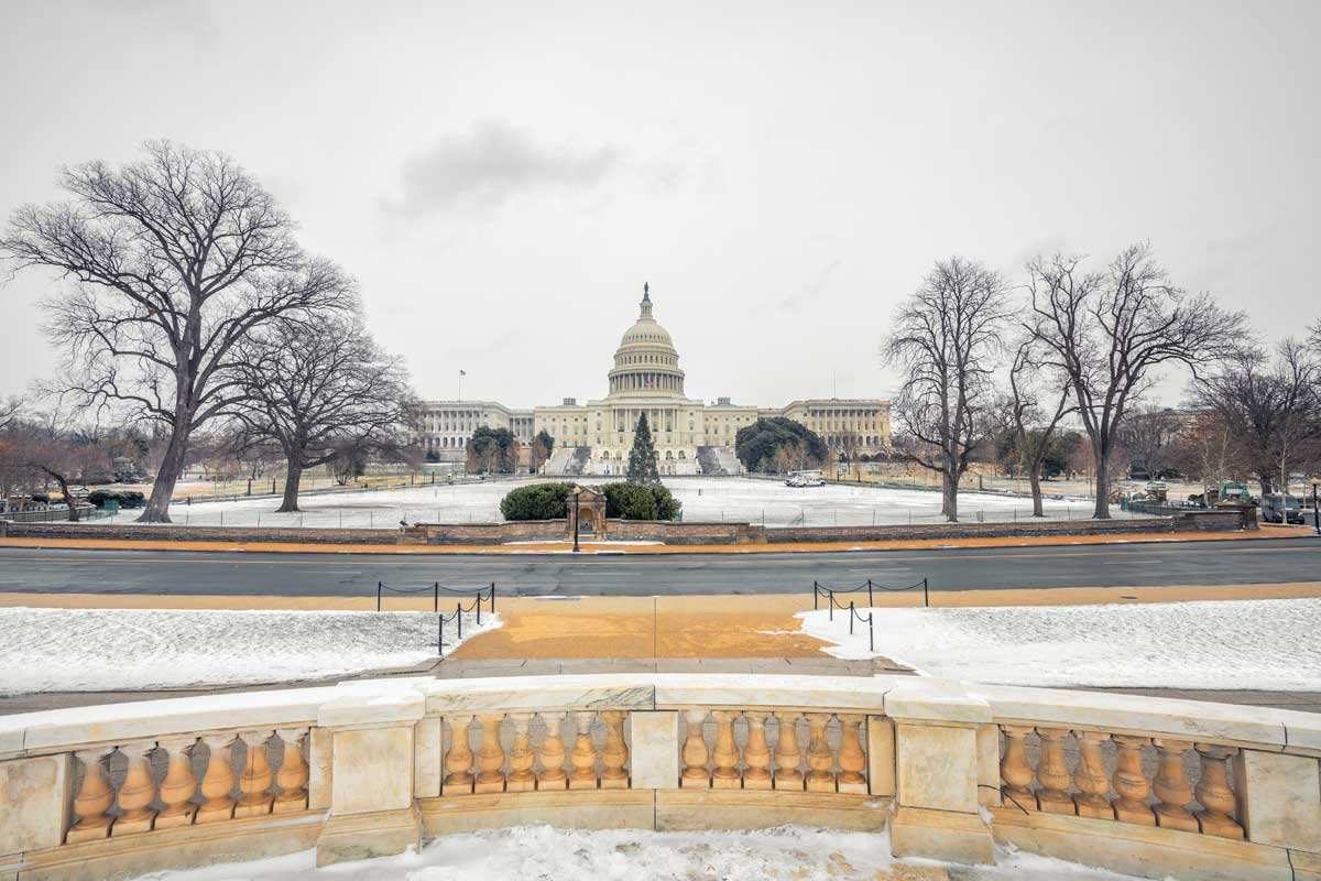 How to Stay Warm in Washington DC