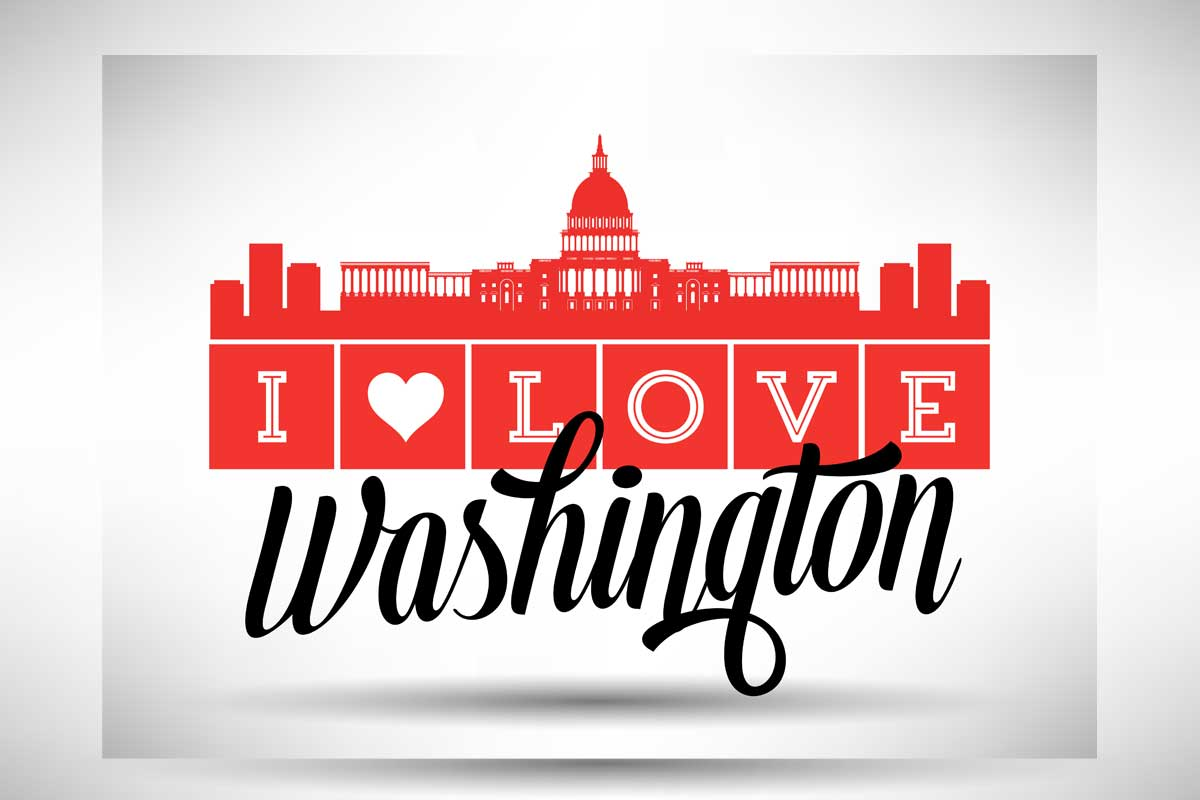 I love DC - How To Learn English and Go Sightseeing in DC
